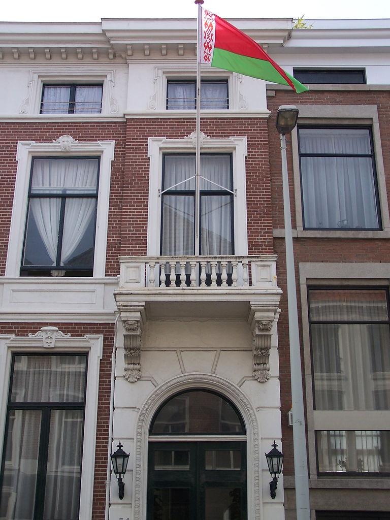 Bezoek aan de Wit- Russische ambassade