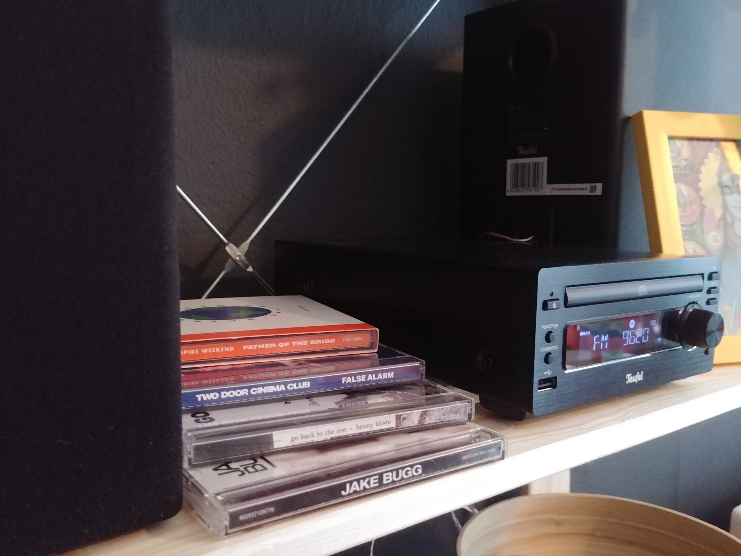 Ik heb mijn cd-collectie verdubbeld